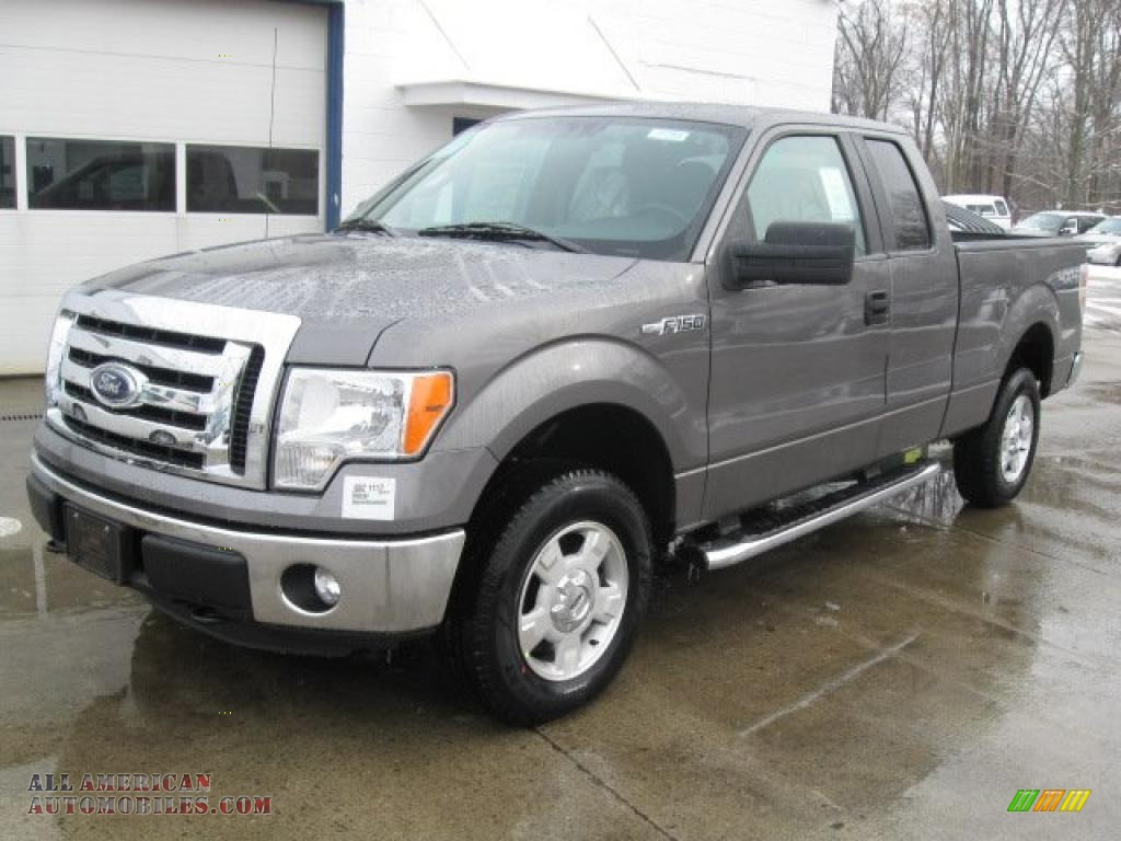 2011 ford f150 xlt supercab 4x4 in sterling grey metallic a57921 all american automobiles. Black Bedroom Furniture Sets. Home Design Ideas