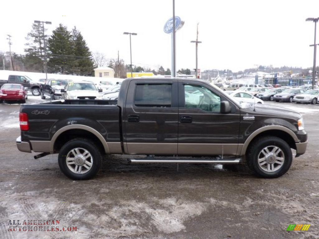 2005 ford f150 lariat supercrew 4x4 in dark stone metallic. Black Bedroom Furniture Sets. Home Design Ideas