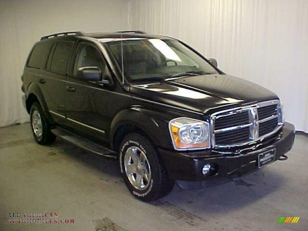 2004 Dodge Durango Limited 4x4 In Black 189634 All
