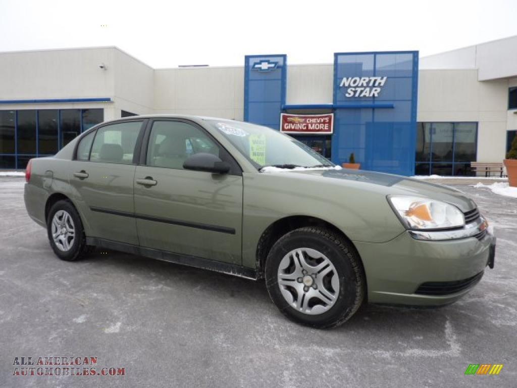 2005 chevrolet malibu sedan in silver green metallic 246643 all american automobiles buy. Black Bedroom Furniture Sets. Home Design Ideas