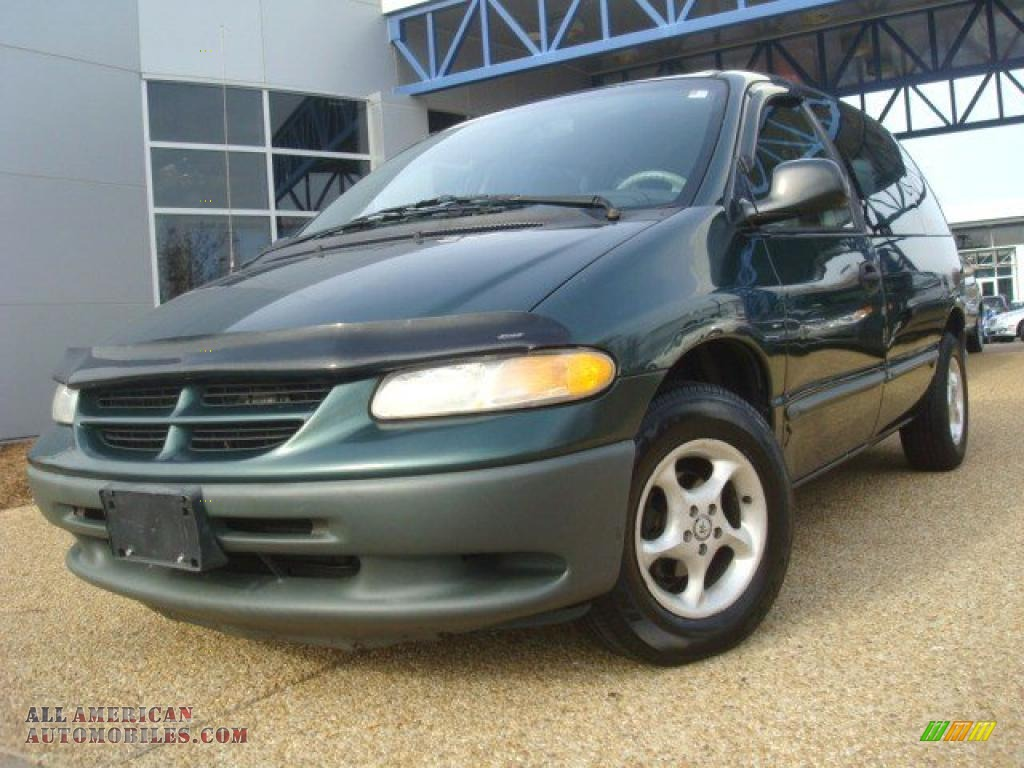 1999 dodge caravan in forest green pearlcoat photo 16 Tysinger motor company