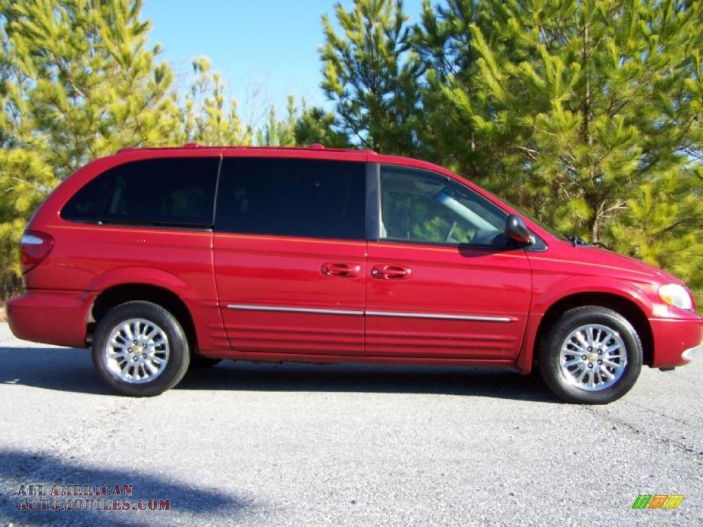 2002 chrysler town country limited in inferno red tinted pearlcoat photo 11 583079 all. Black Bedroom Furniture Sets. Home Design Ideas