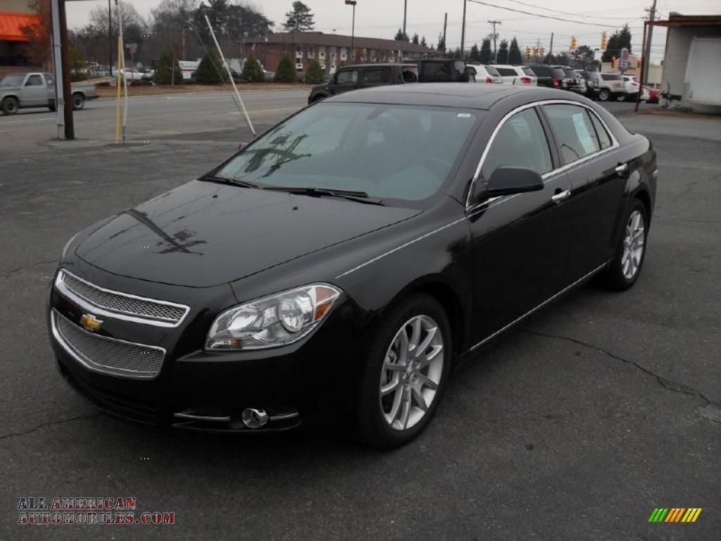 2011 Chevrolet Malibu Ltz In Black Granite Metallic