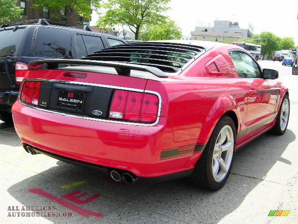 2008 Ford Mustang Saleen Heritage 302 In Torch Red Photo