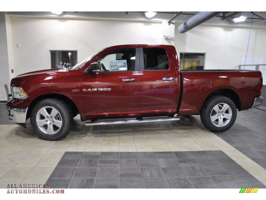 2011 Dodge Ram 1500 Big Horn Quad Cab In Deep Cherry Red