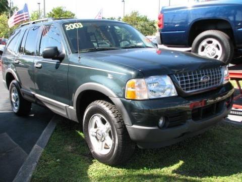 Ford Explorer 2003 Xlt. 2003 Ford Explorer XLT