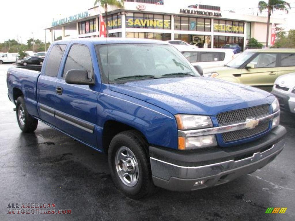 2004 Chevrolet Silverado 1500 Ls Extended Cab In Arrival