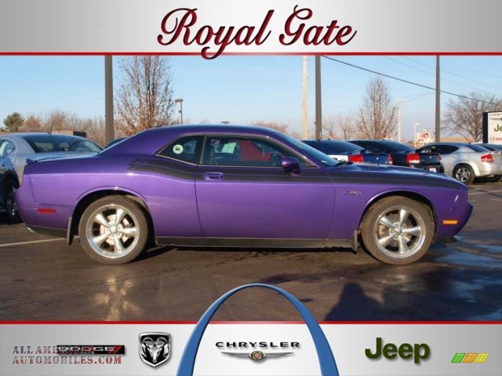 2010 dodge challenger r t classic in plum crazy purple for Royal chrysler motors inc