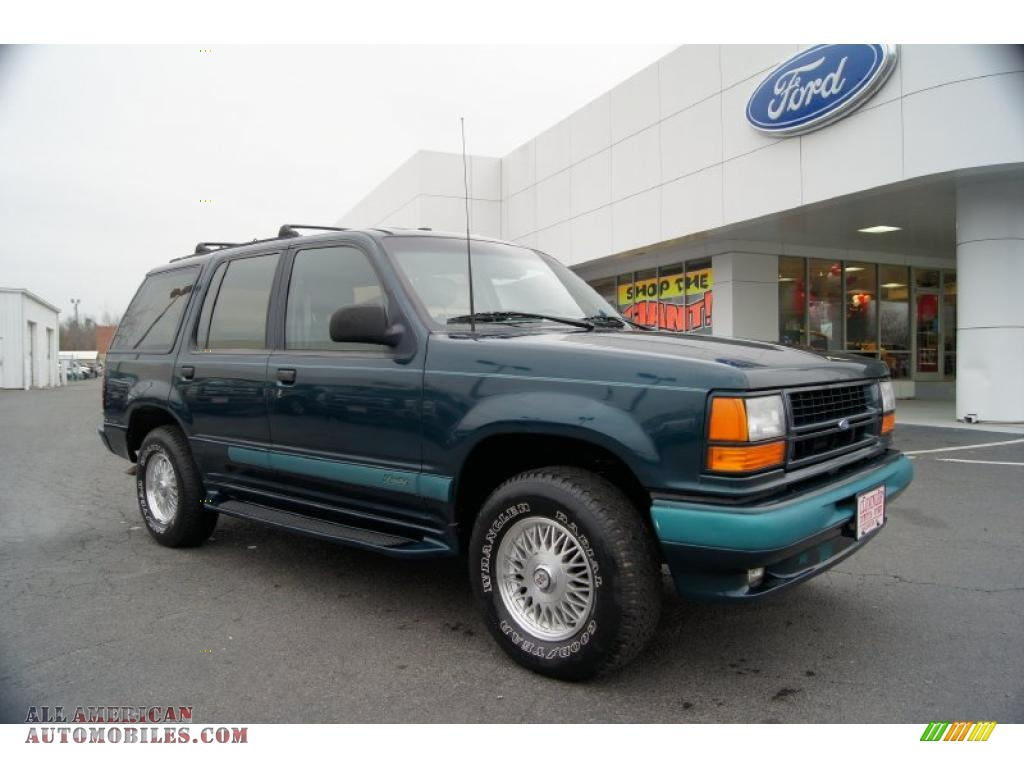 1994 Ford Explorer Limited 4x4 In Deep Emerald Green