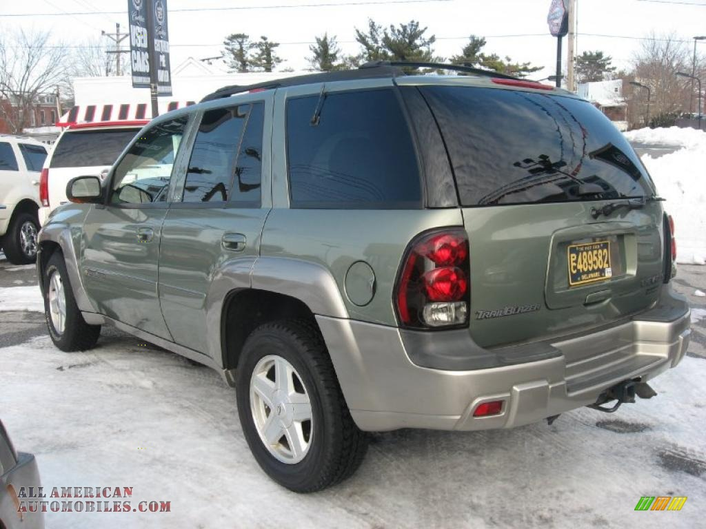 Mike Anderson Chevrolet >> 2003 Chevrolet TrailBlazer LTZ 4x4 in Silver Green ...