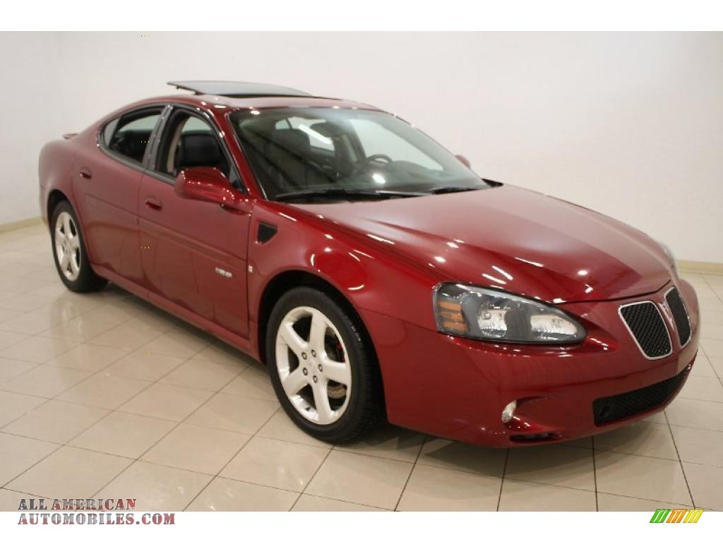 2007 pontiac grand prix gxp sedan in red jewel tintcoat 221999 all american automobiles. Black Bedroom Furniture Sets. Home Design Ideas