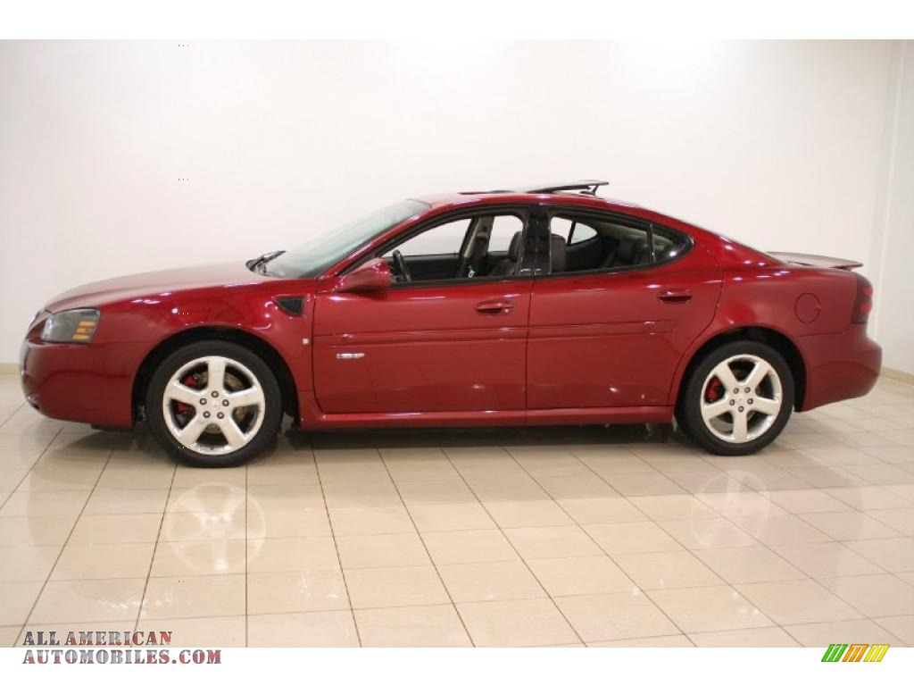 2007 pontiac grand prix gxp sedan in red jewel tintcoat photo 4 221999 all american. Black Bedroom Furniture Sets. Home Design Ideas