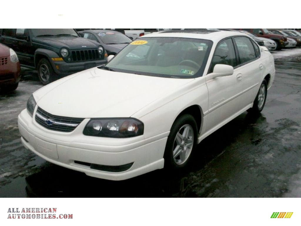 2004 Chevrolet Impala Ls In White 303951 All American Automobiles Buy American Cars For Sale In America