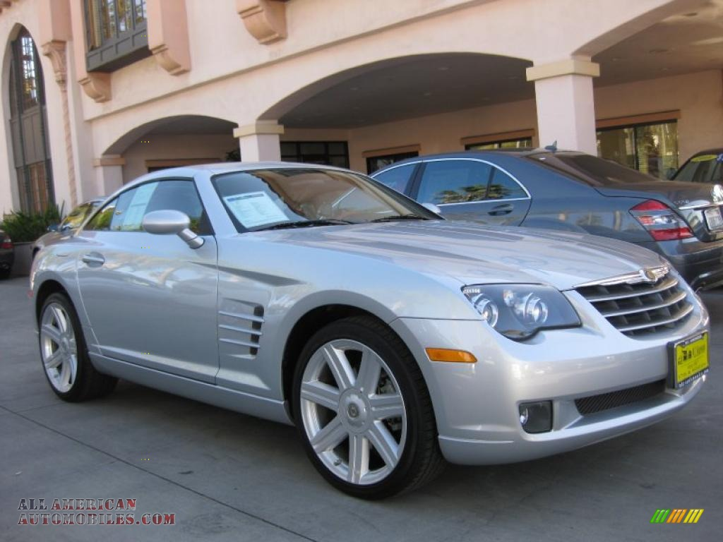 2008 chrysler crossfire limited coupe in bright silver metallic 075099 all american. Black Bedroom Furniture Sets. Home Design Ideas