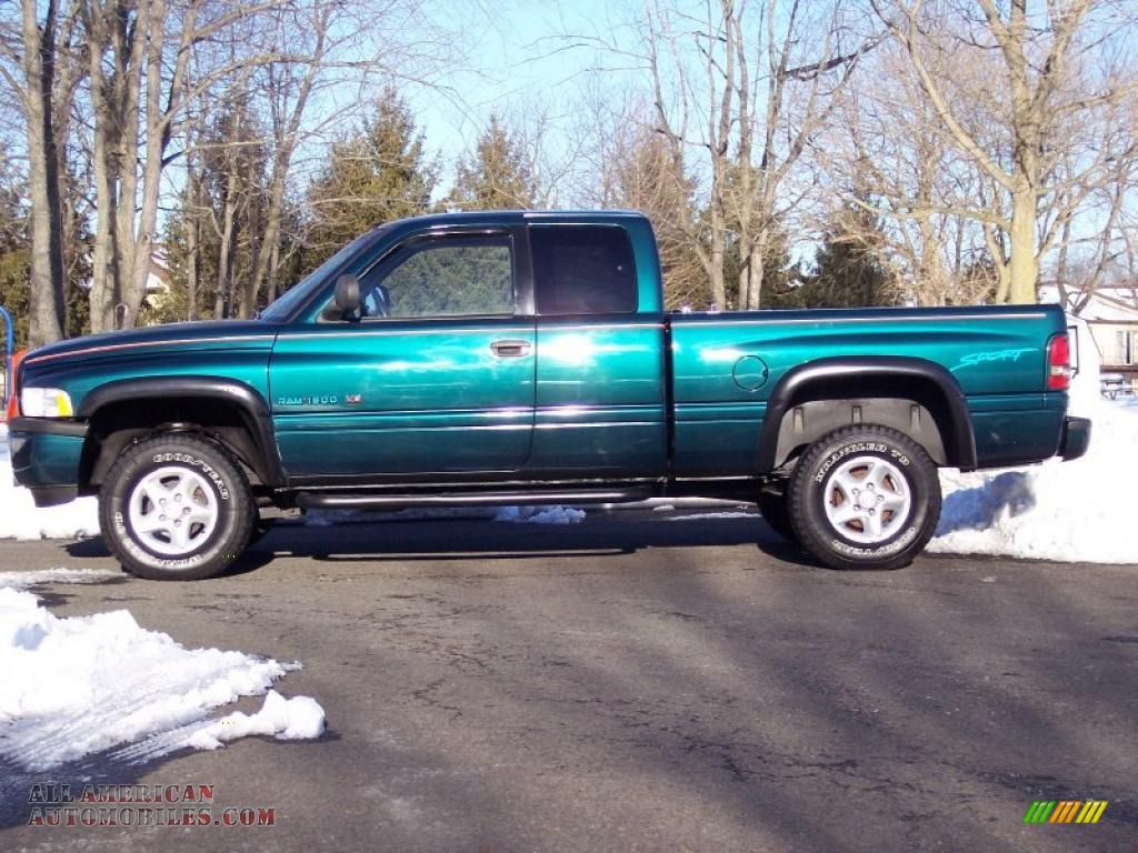 1998 Dodge Ram 1500 Sport Extended Cab 4x4 in Emerald ...