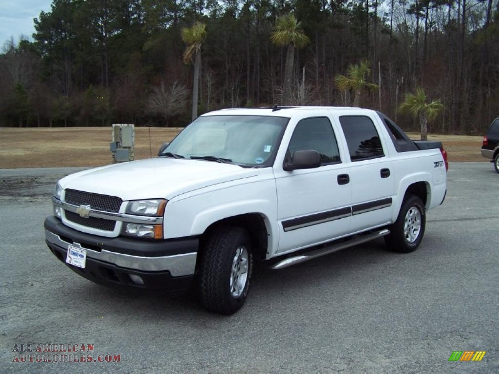 2006 chevrolet avalanche z71 4x4 in summit white photo 8 106462 all american automobiles. Black Bedroom Furniture Sets. Home Design Ideas