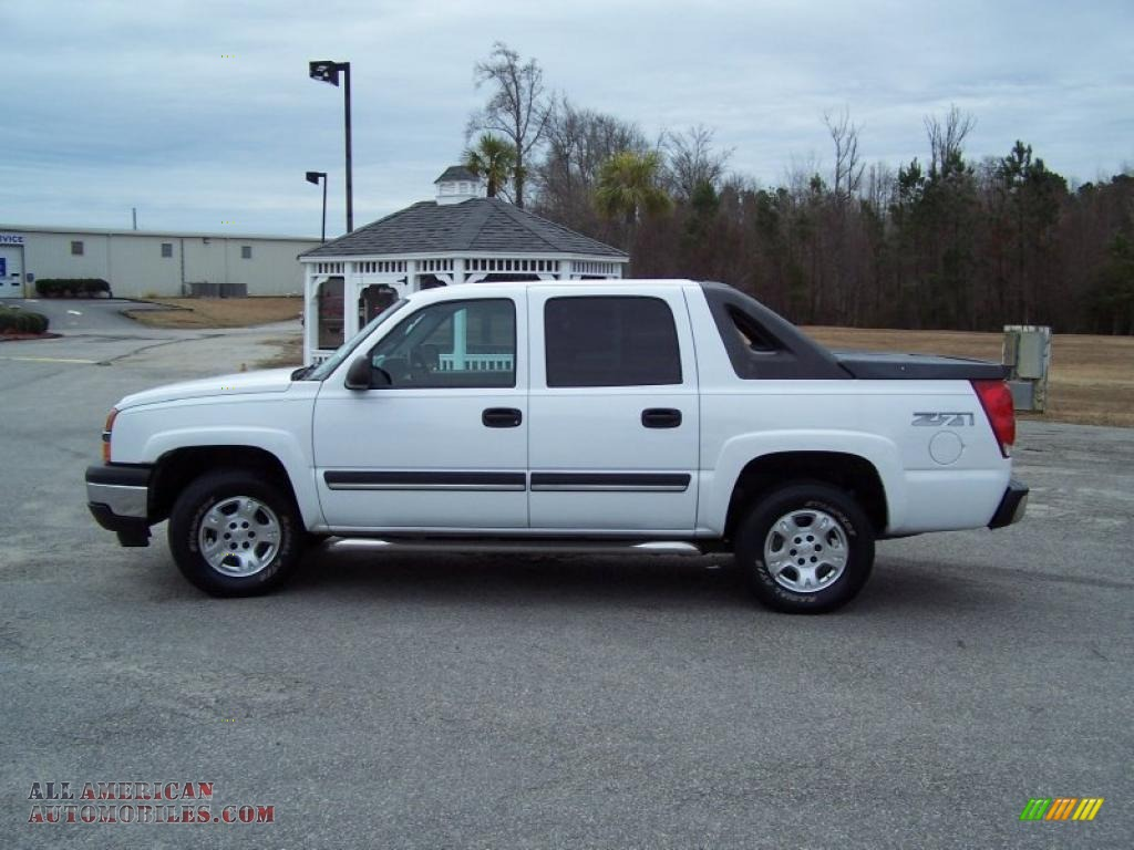 2006 Chevrolet Avalanche Z71 4x4 In Summit White Photo 8 106462 All American Automobiles