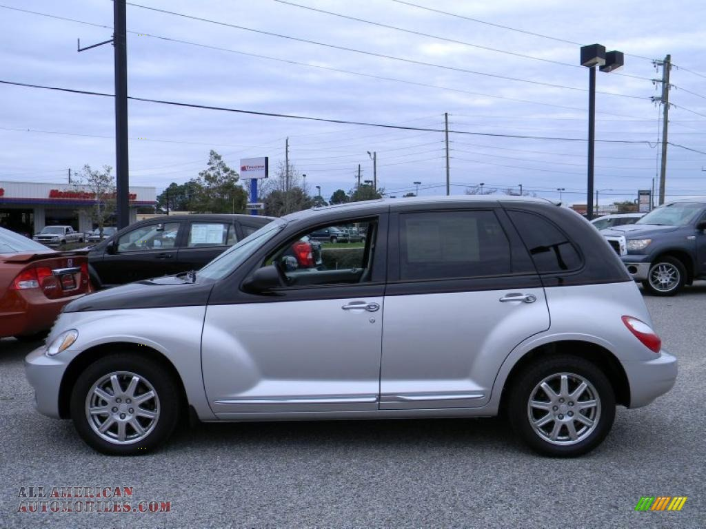 2010 chrysler pt cruiser couture edition in two tone silver black photo 2 212112 all. Black Bedroom Furniture Sets. Home Design Ideas