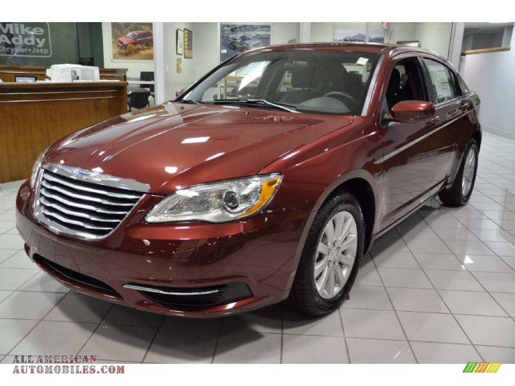 2011 Chrysler 200 Touring in Deep Cherry Red Crystal Pearl - 505077 ...