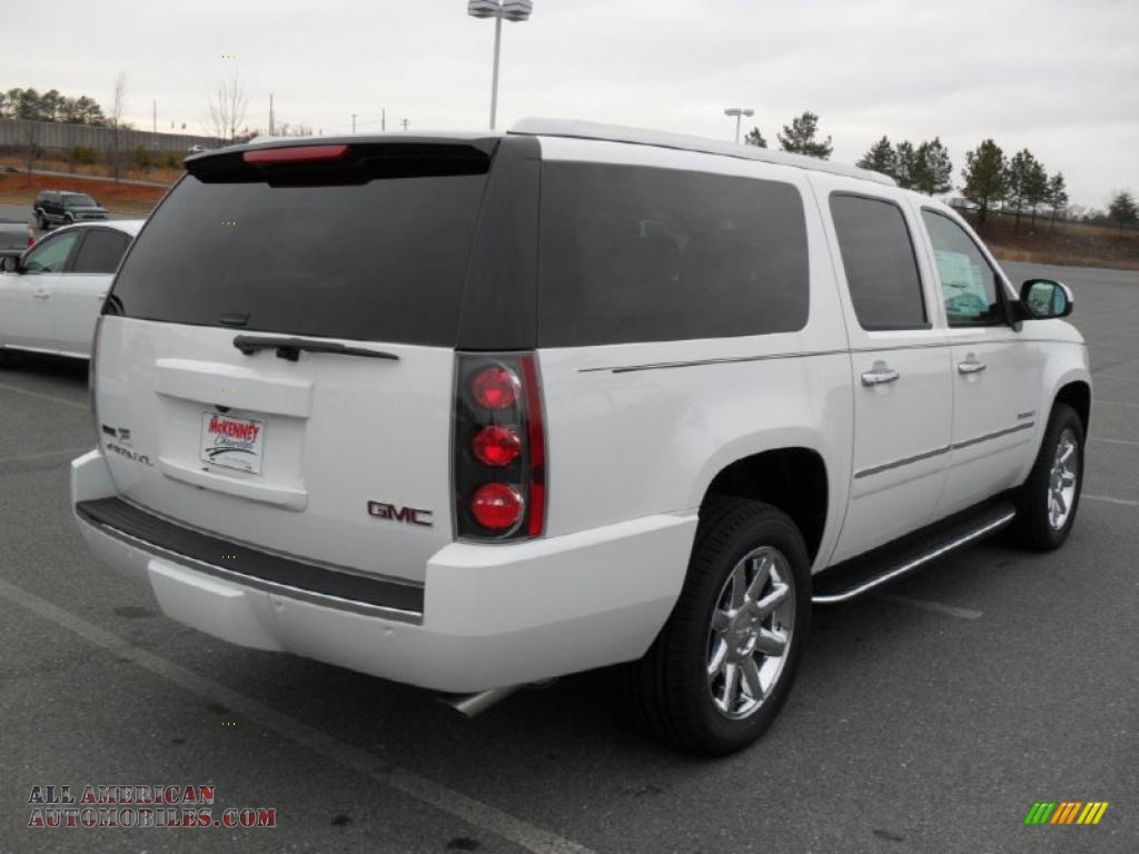 2011 gmc yukon xl denali awd in summit white photo 4 244323 all american automobiles buy. Black Bedroom Furniture Sets. Home Design Ideas