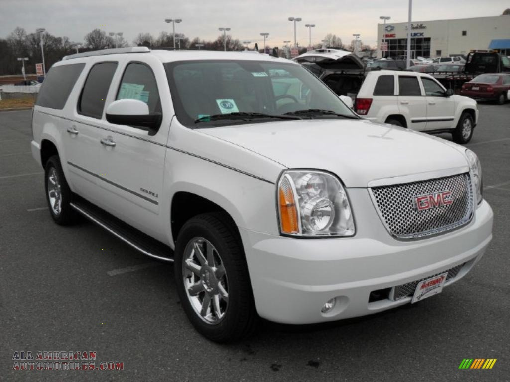2011 gmc yukon xl denali awd in summit white photo 5 244323 all american automobiles buy. Black Bedroom Furniture Sets. Home Design Ideas