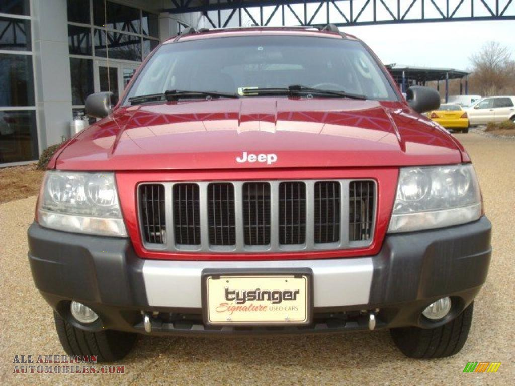 2004 jeep grand cherokee freedom edition 4x4 in inferno Tysinger motor company