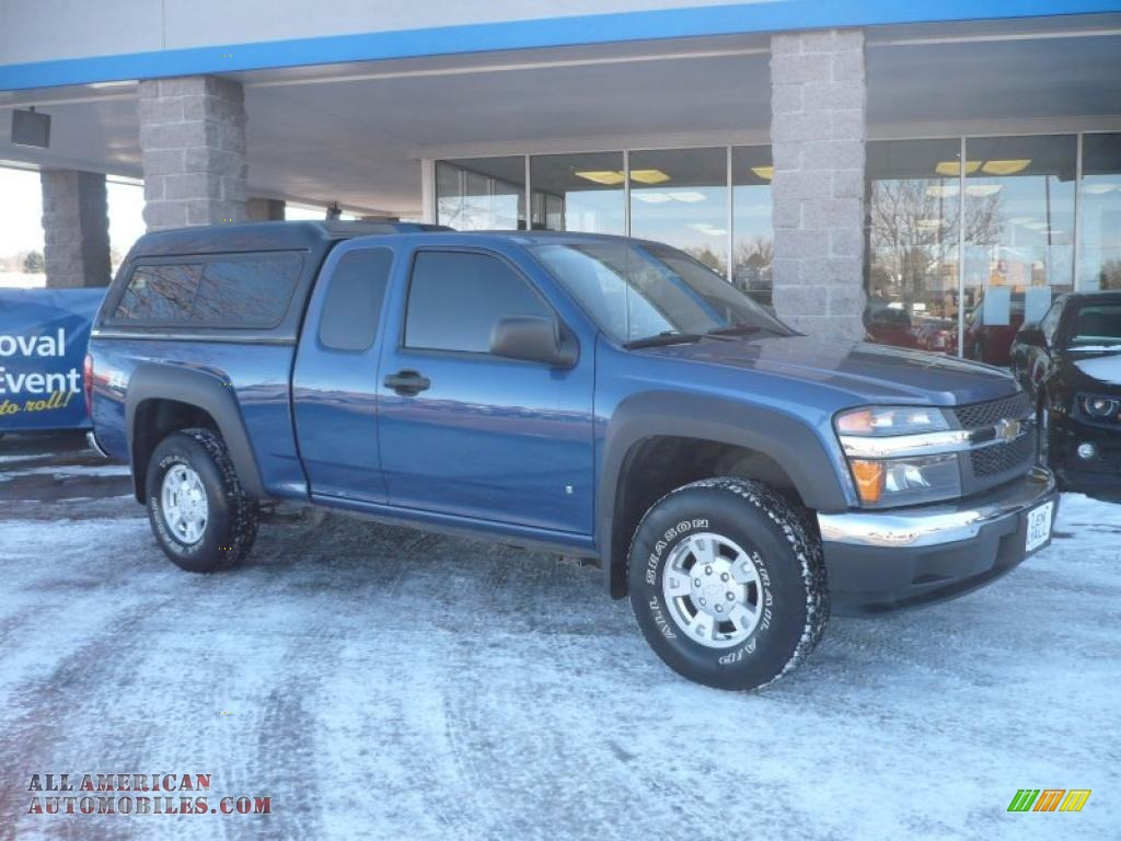 2006 chevrolet colorado z71 extended cab 4x4 in superior blue metallic photo 3 182456 all. Black Bedroom Furniture Sets. Home Design Ideas