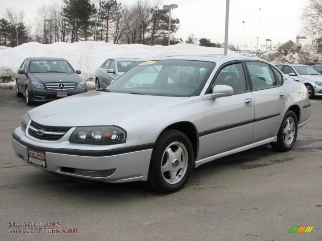 2001 Chevrolet Impala Ls In Galaxy Silver Metallic Photo