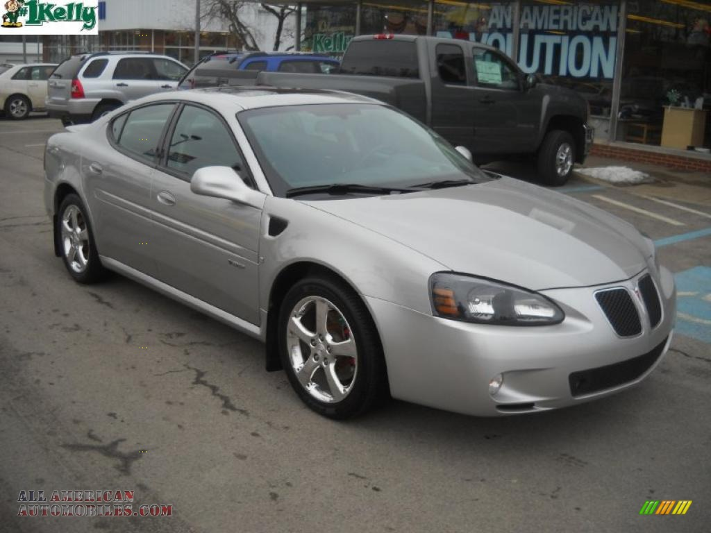 2007 pontiac grand prix gxp sedan in liquid silver metallic 200953 all american automobiles. Black Bedroom Furniture Sets. Home Design Ideas
