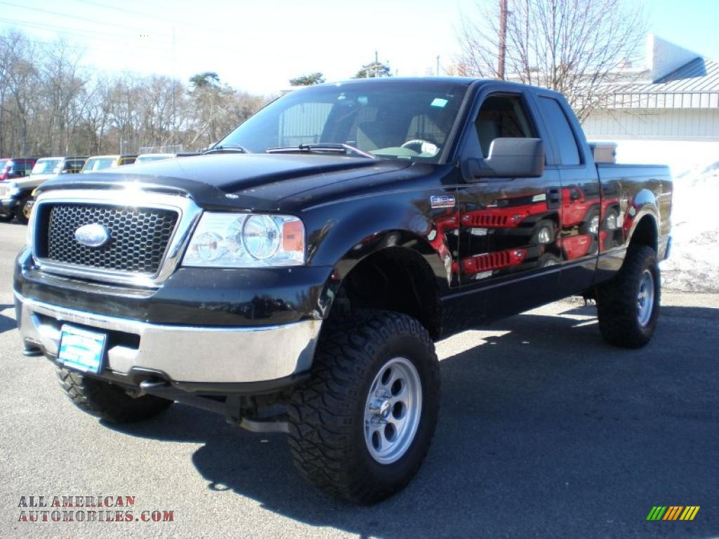 2007 Ford F150 Xlt Supercab 4x4 In Black A22996 All