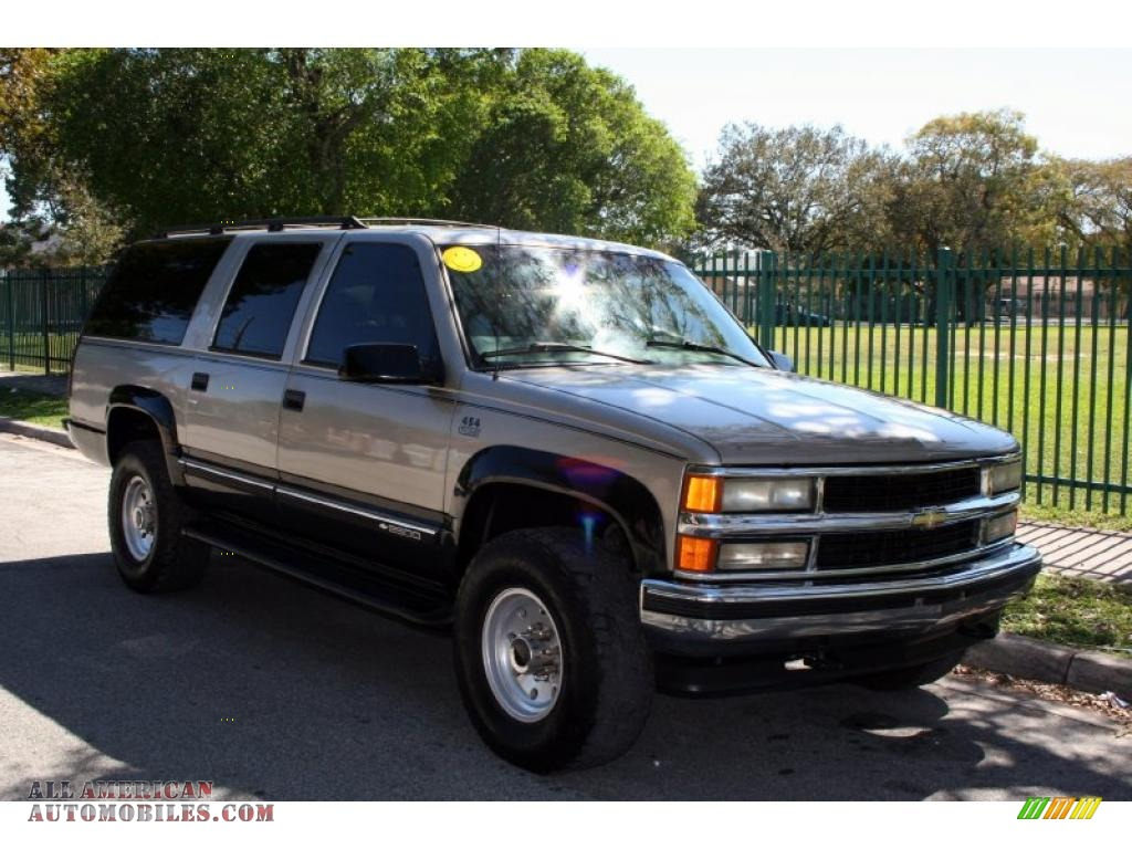 1999 chevrolet suburban k2500 lt 4x4 in light pewter metallic photo 14 543506 all american. Black Bedroom Furniture Sets. Home Design Ideas