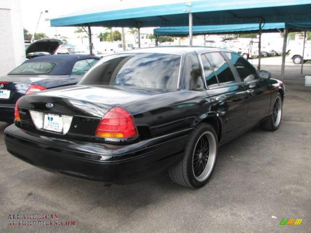 1998 ford crown victoria police interceptor in black photo  10
