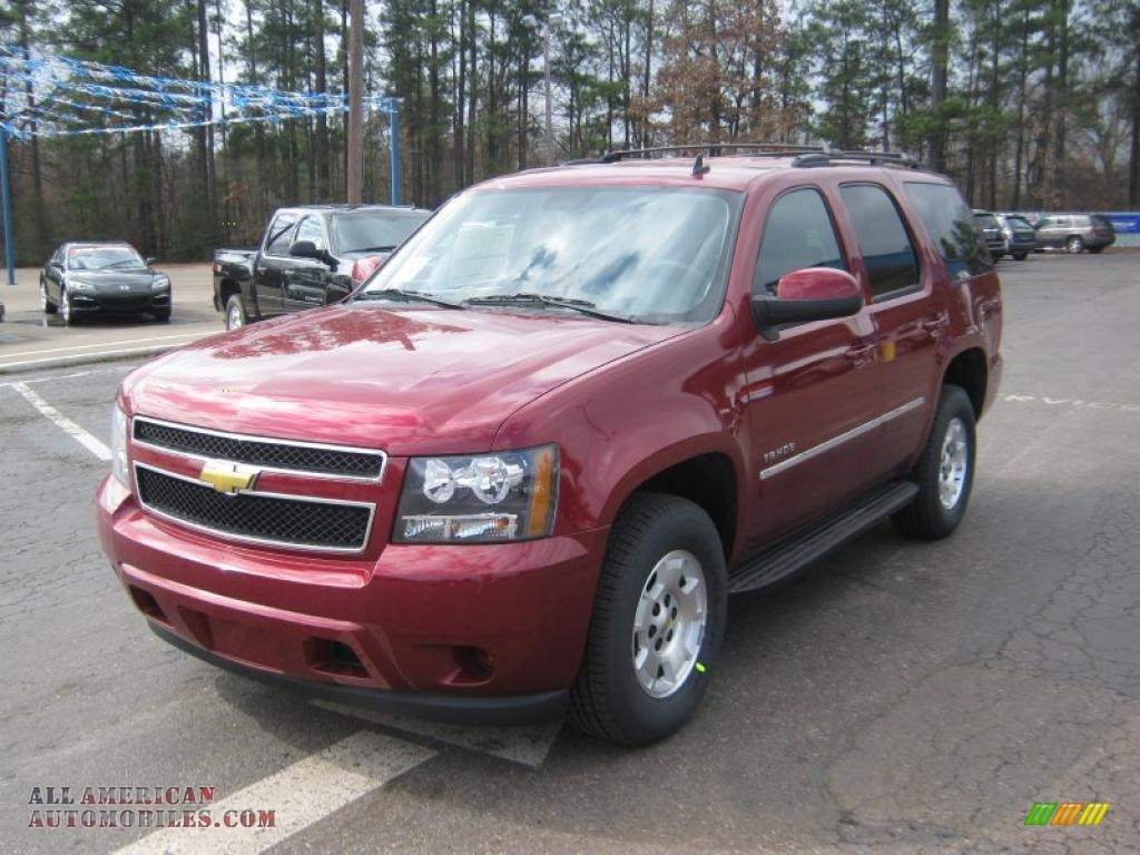 2011 chevrolet tahoe ls in red jewel tintcoat 256884 all american automobiles buy american. Black Bedroom Furniture Sets. Home Design Ideas