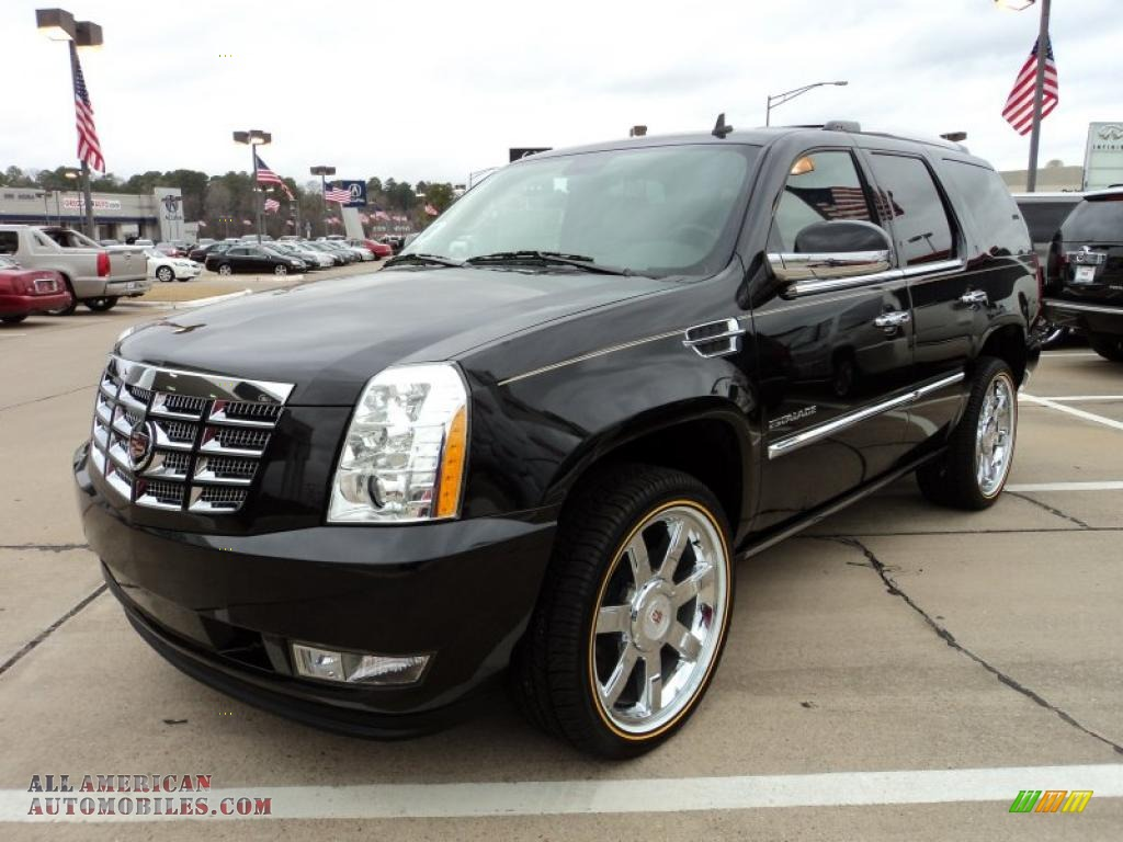 2011 cadillac escalade premium awd in black raven 216007 all american automobiles buy. Black Bedroom Furniture Sets. Home Design Ideas