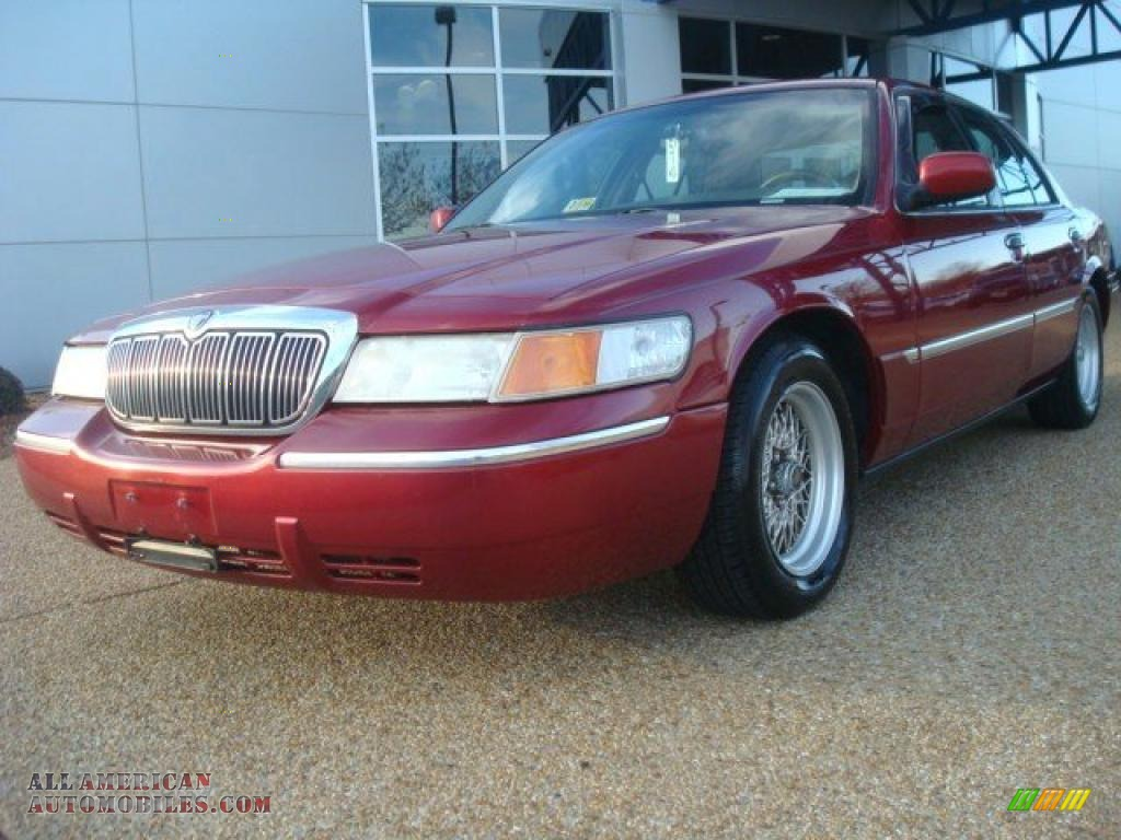 2000 mercury grand marquis ls in toreador red metallic Tysinger motor company