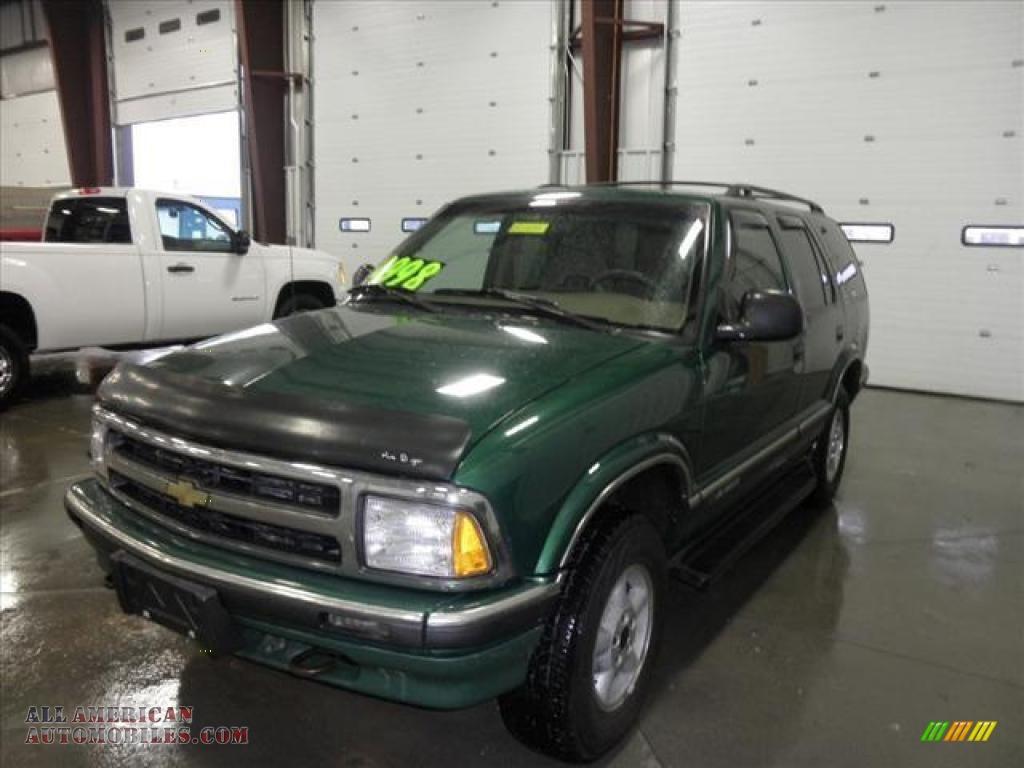 1997 Chevrolet Blazer 4x4 in Fairway Green Metallic photo ...