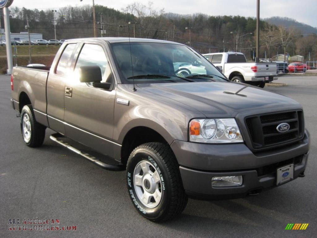 2004 ford f150 stx supercab 4x4 in dark shadow grey. Black Bedroom Furniture Sets. Home Design Ideas