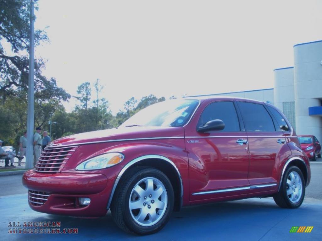 2003 chrysler pt cruiser gt in inferno red pearl 540218. Black Bedroom Furniture Sets. Home Design Ideas