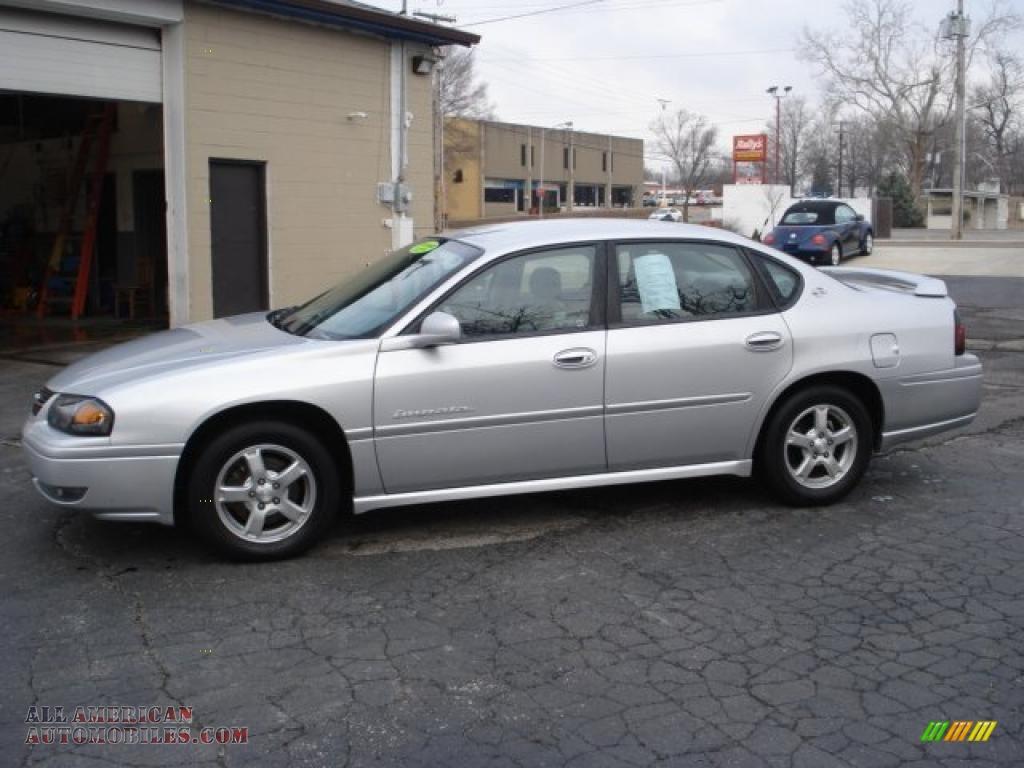 2004 chevrolet impala ls in galaxy silver metallic photo 4 390032 all american automobiles. Black Bedroom Furniture Sets. Home Design Ideas