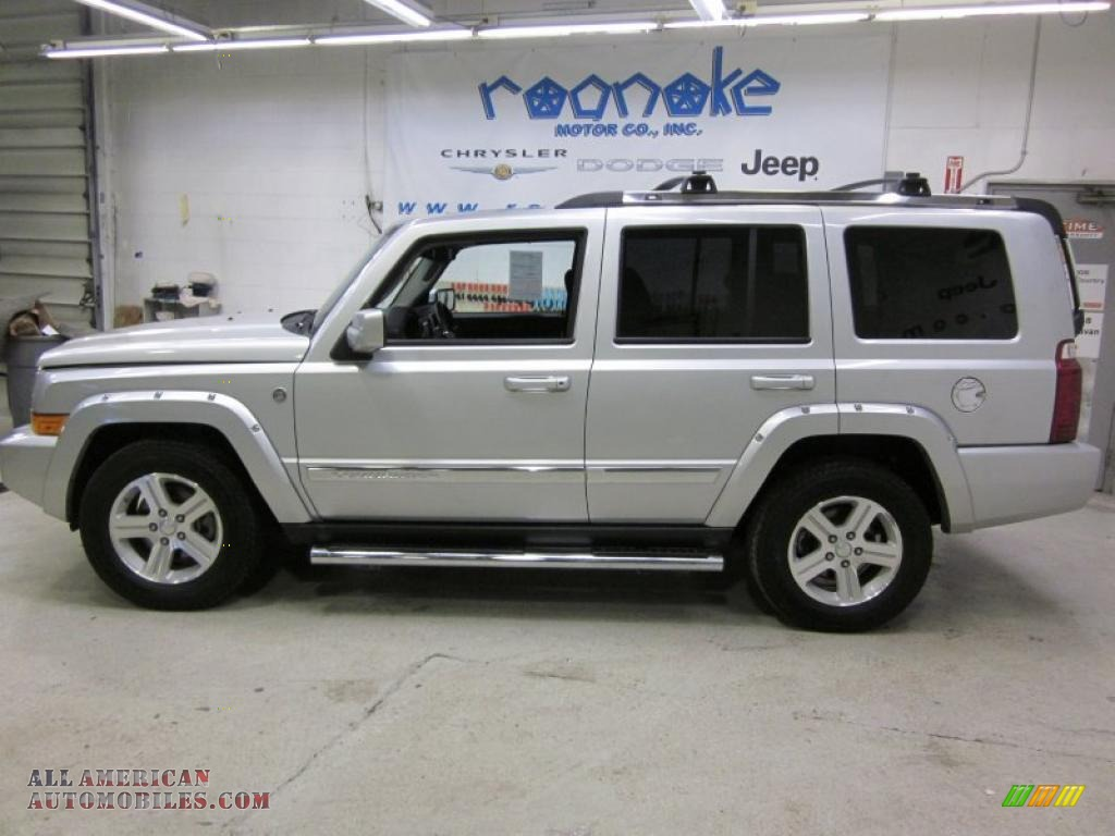 2010 jeep commander limited 4x4 in bright silver metallic 118589 all american automobiles. Black Bedroom Furniture Sets. Home Design Ideas