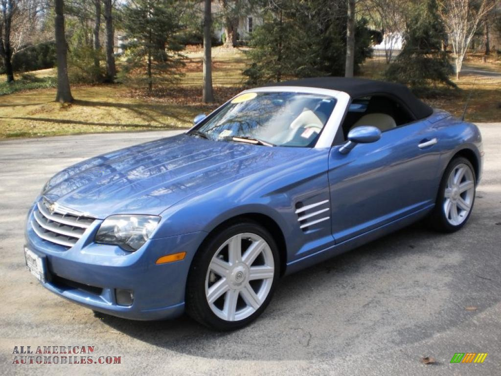 2006 chrysler crossfire limited roadster in aero blue pearl 061600 all american automobiles. Black Bedroom Furniture Sets. Home Design Ideas