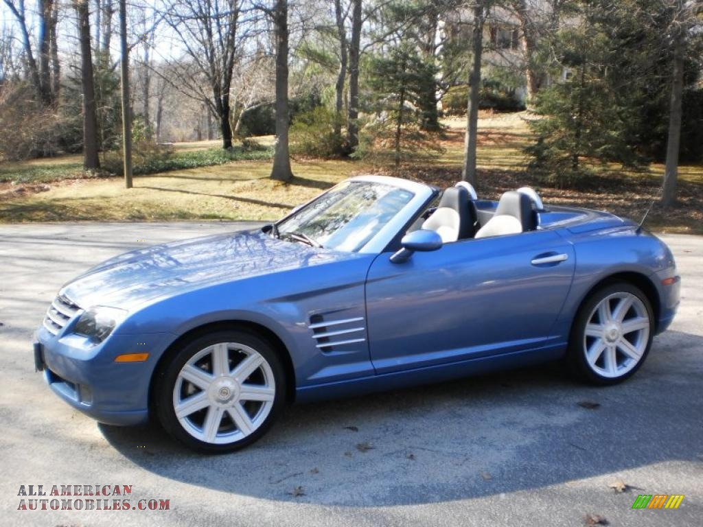 2006 chrysler crossfire limited roadster in aero blue pearl photo 10 061600 all american. Black Bedroom Furniture Sets. Home Design Ideas