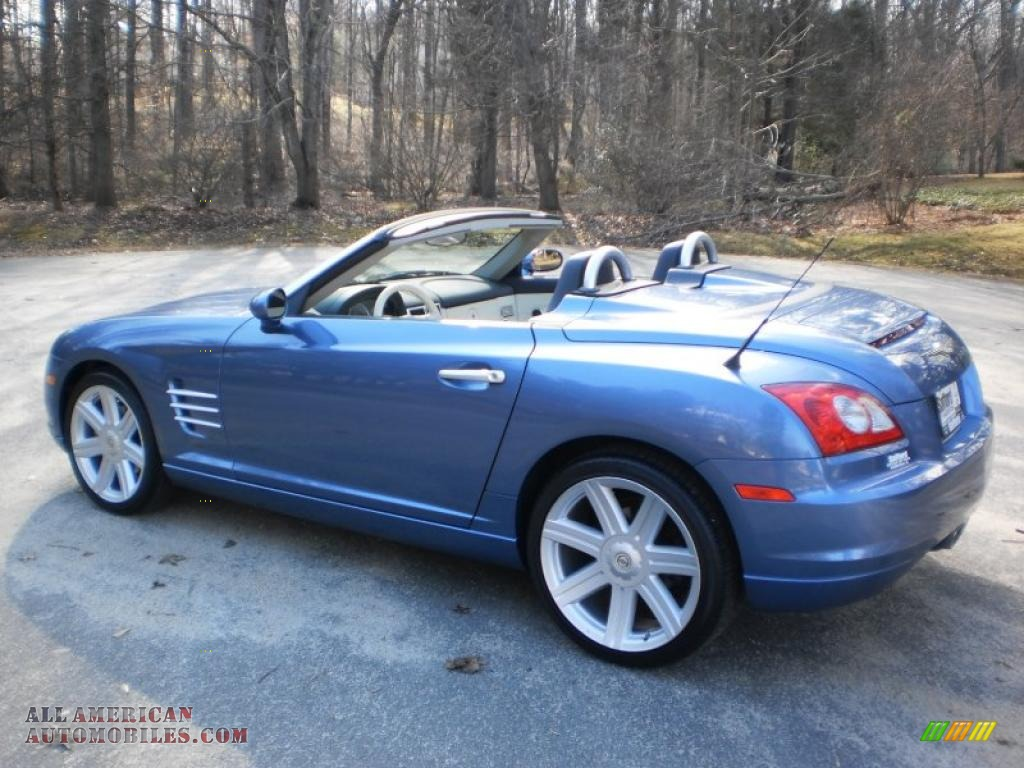 2006 chrysler crossfire limited roadster in aero blue pearl photo 11 061600 all american. Black Bedroom Furniture Sets. Home Design Ideas