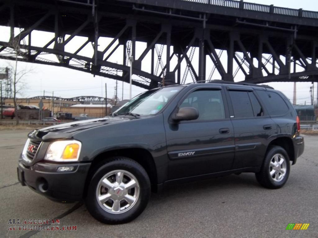 2003 gmc envoy sle 4x4 in onyx black 265469 all. Black Bedroom Furniture Sets. Home Design Ideas