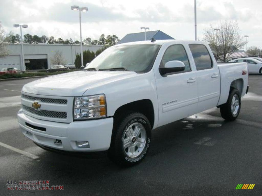 2011 chevrolet silverado 1500 lt crew cab in summit white photo 4 245316 all american. Black Bedroom Furniture Sets. Home Design Ideas