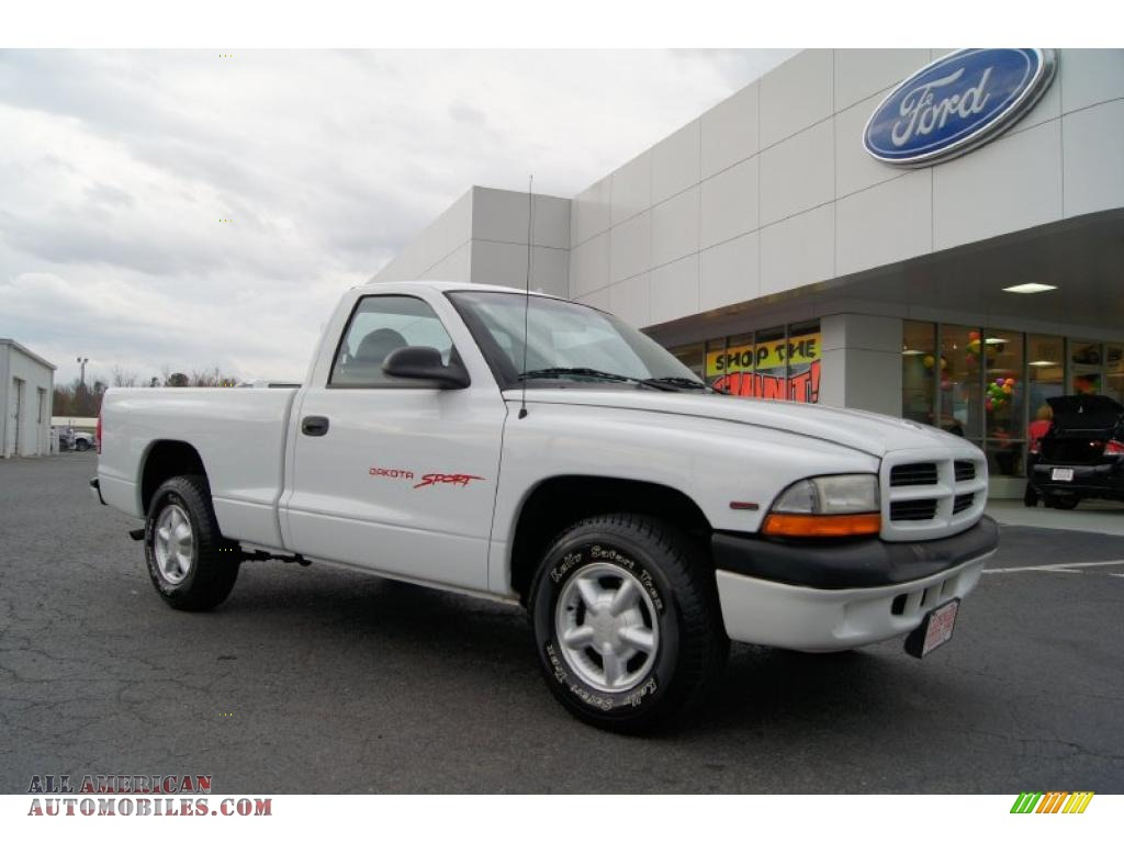 1999 dodge dakota sport regular cab in bright white photo for Steve white motors inc