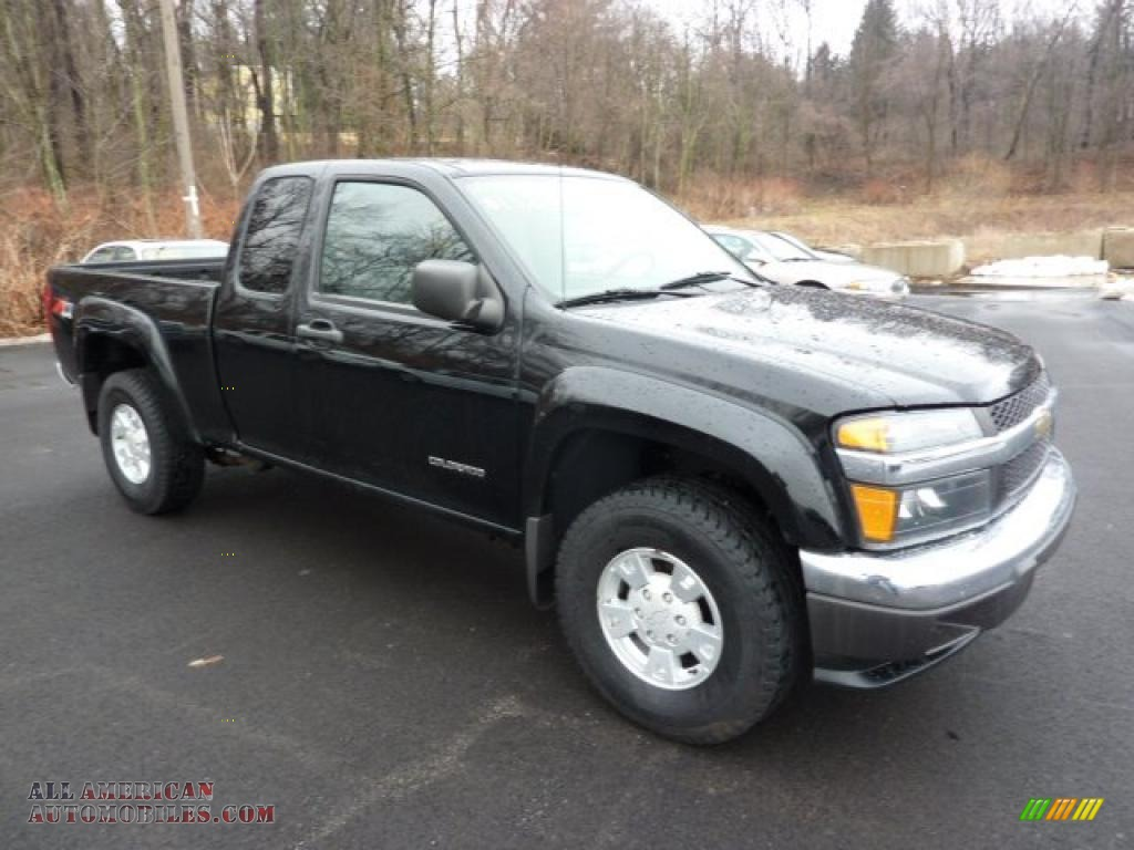 2005 chevrolet colorado z71 extended cab 4x4 in black 214819 all. Cars Review. Best American Auto & Cars Review