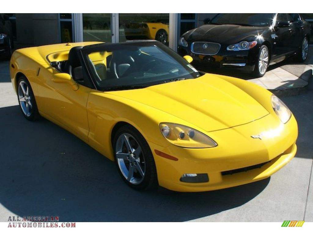 2005 Chevrolet Corvette Convertible In Millenium Yellow