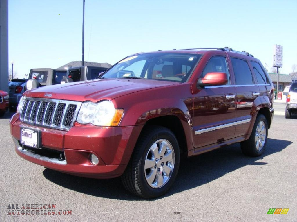 Springfield Buick Gmc >> 2008 Jeep Grand Cherokee Overland 4x4 in Red Rock Crystal Pearl photo #15 - 142500 | All ...