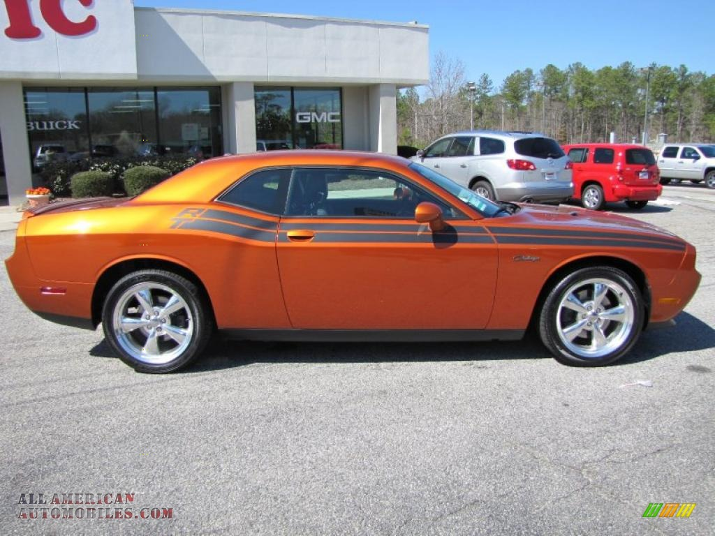 2011 dodge challenger r t classic in toxic orange pearl photo 8 504920 all american. Black Bedroom Furniture Sets. Home Design Ideas